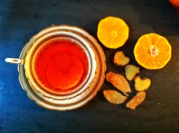 Bourbon Clementine Ginger Hot Toddy