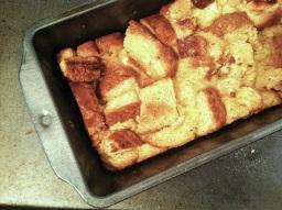 Creamsicle Bread Pudding